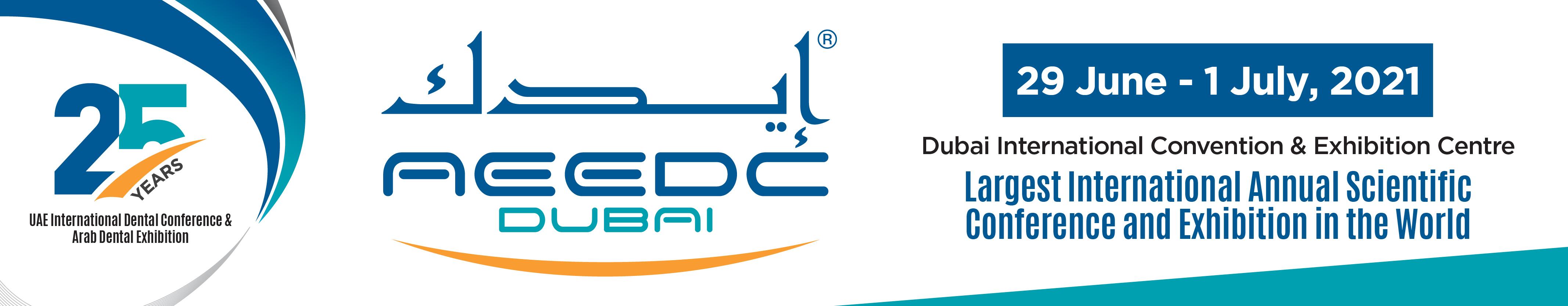 UAE International Dental Conference & Arab Dental Exhibition  - AEEDC Dubai 2021