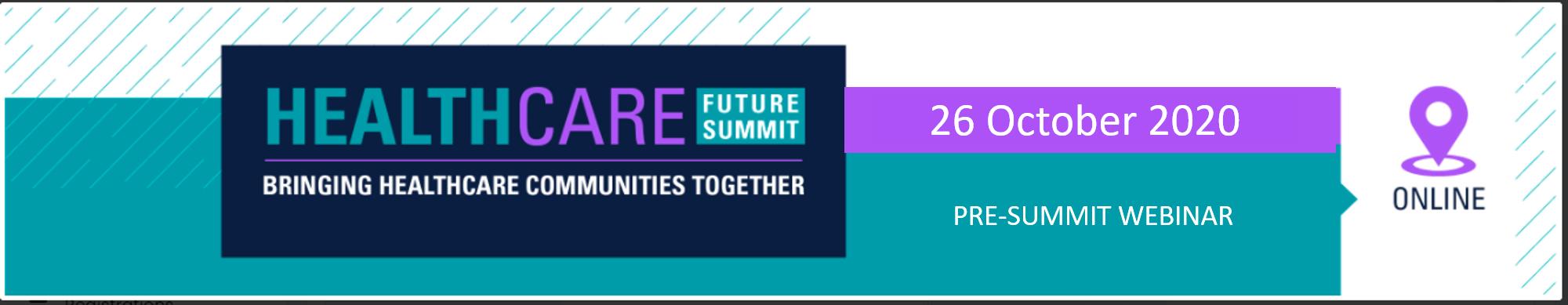Healthcare Future Summit (OCT 26, 2020)