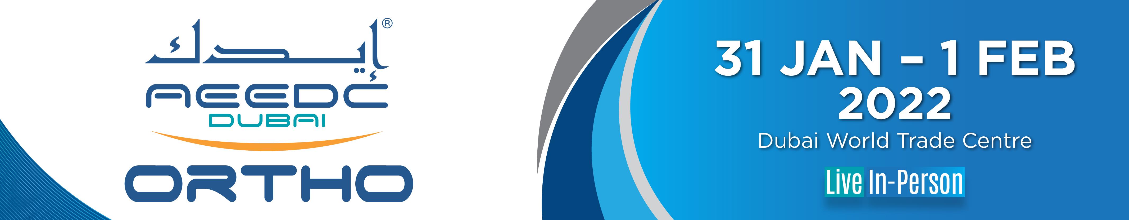 AEEDC Dubai World Orthodontic Conference 2022