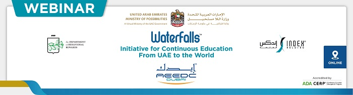 Waterfalls Continuous Education Webinars (June 16, 15:30 - 16:30)
