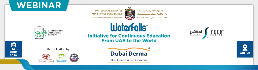 "Dubai Derma Waterfalls Webinar: ""Dermatological Manifestations of COVID-19: A Global Perspective"""