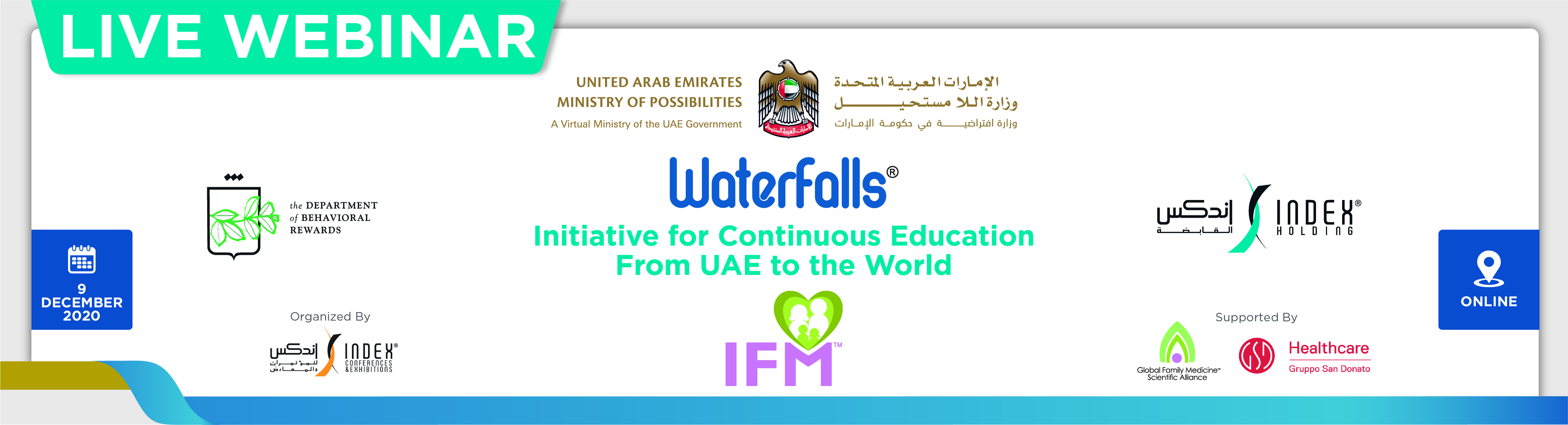 IFM Webinar: Topic-Regain vision using stem cells - Dec 9 (20:00 - 21:00 UAE)