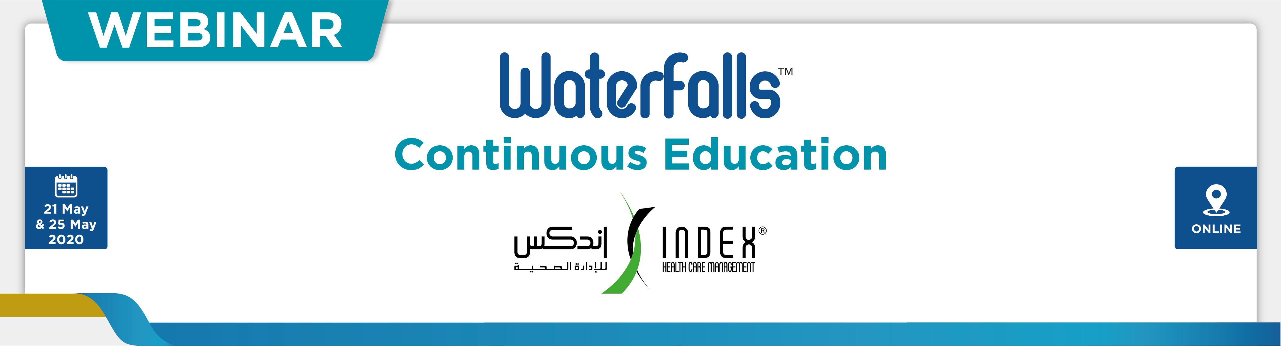 IHCM Webinar Waterfalls Education, May 21