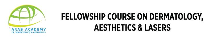 AADA Fellowship Course on Dermatology, Aesthetics and Lasers 2022