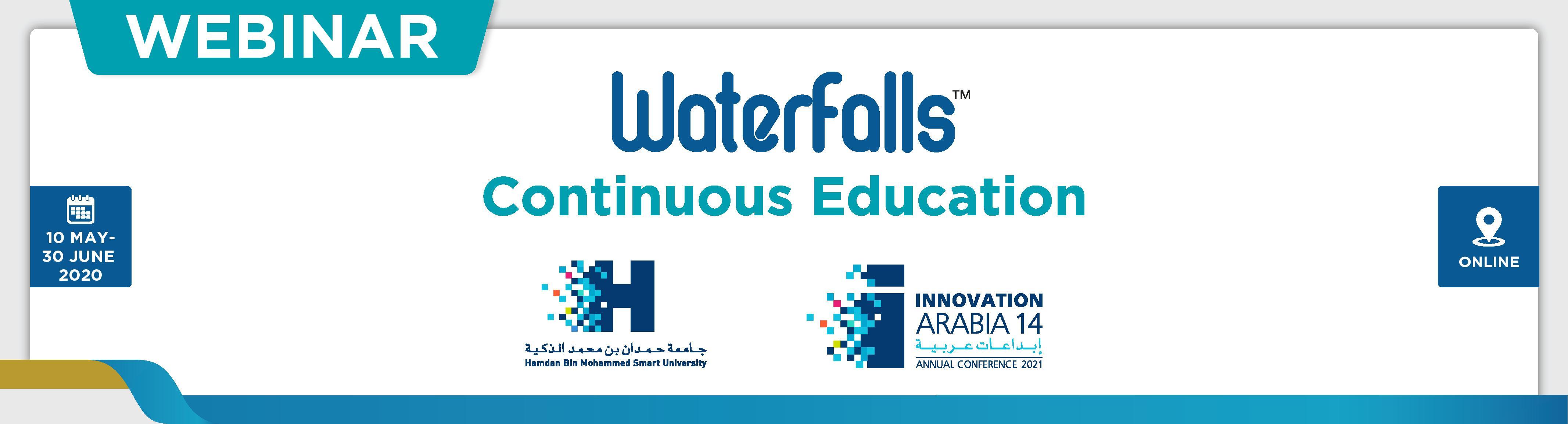Waterfalls Webinar- HBMSU (18th May)