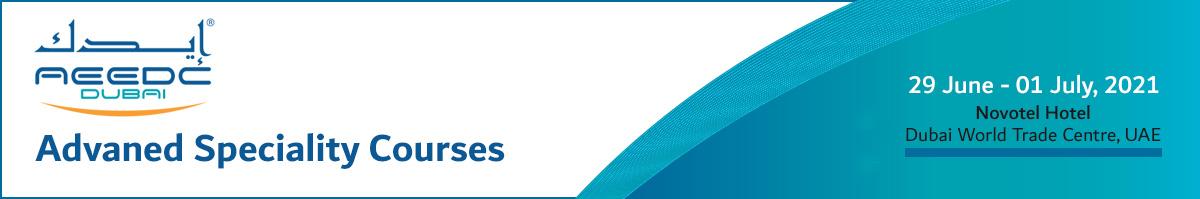 AEEDC Advanced Specialty Courses 2021
